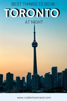 Here are the top things to do in Toronto at night. Find out the ultimate list of what to do in the magical city of Toronto after hours. #Toronto #Night #Thingstodo Toronto Nightlife, Toronto Travel, Top Travel Destinations, Amazing Destinations, Travel Tips, Canadian Travel, European Travel, Cool Places To Visit, Places To Go