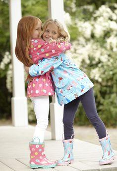 Hatley Raincoats for Girls British Clothing Brands, My Best Friend, Best Friends, Rain Gear, Baby Kids, Leather Jacket, Children, Lady