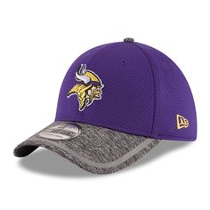 Minnesota Vikings New Era On Field Training Camp 39THIRTY Flex Hat - Purple - $22.99