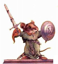 Matthias, the main character in the book Redwall by Brian Jacques. :)