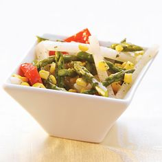Asparagus, Jicama, Red Pepper, & Corn Salad - Wegmans