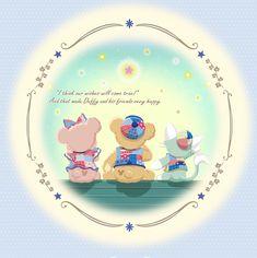 "Wishing Together  ""Duffy"" The Disney Bear 東京ディズニーシー 東京ディズニーリゾート Disney Phone Wallpaper, Kawaii Wallpaper, Iphone Wallpaper, Disney Pins, Disney Art, Disney Illustration, Illustrations, Duffy The Disney Bear, Tokyo Disney Sea"