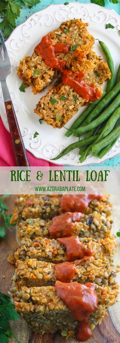 Rice and Lentil Loaf is a classic dish with a vegetarian twist. You'll love how good this classic can be!