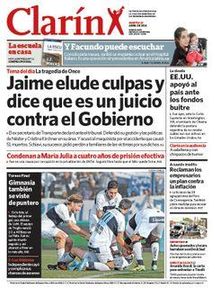 Jaime elude culpas y dice que es un juicio contra el Gobierno. Más información: http://www.clarin.com/politica/Jaime-rechazo-cargos-juicio-politico_0_1124887501.html