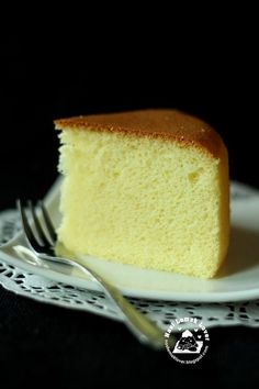 When my daughter first tasted this sponge cake, she told me this cheesecake is so light and good. But I told her that this is not a cheese...