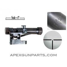 PU Scope W/Steel Bracket, M91/30, RUSSIAN