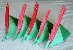Peter Pan Party Hats @Megan Ward Ward Robertson