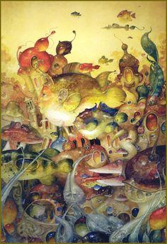 """Going Right"" ~ Daniel Merriam ~ Watercolorist Extraordinaire"