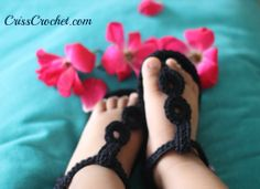 Ready fro the #summer! Lovely #crochet #baby sandals with leather sole. Take just a few hours to make them.