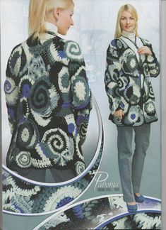 Items similar to New Duplet Crochet Flower Patterns Dresses Irish Lace Tops Cardigans Shawls Duplet 131 on Etsy Form Crochet, Crochet Flower Patterns, Crochet Flowers, Military Jacket, Winter Jackets, High Neck Dress, Graphic Sweatshirt, Album, Sweatshirts
