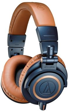 Audio Technica Professional Headphones. Loving the colour scheme!