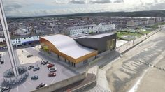 Rhyl promenade water park plans submitted to council Aerial View, Sun Lounger, How To Plan, Park, Building, Places, Water, Outdoor Decor, Travel