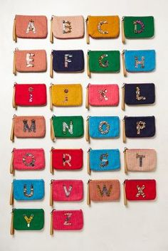 Monogrammed Wristlet from Anthropologie