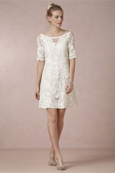 Perfect dress for an outdoor or beach wedding for the boho bride - from BHLDN