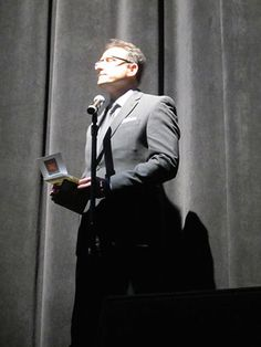 Al Conti presenting the Best World Album Award category at the ZMR Music Awards Show 2015