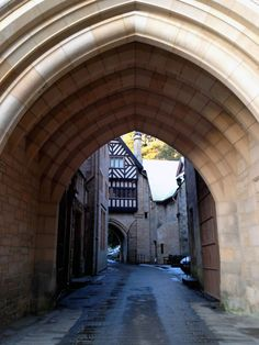 Drive through the arches of the House to begin the 6 mile Estate drive which takes you right to the top of the estate for some stunning scenery