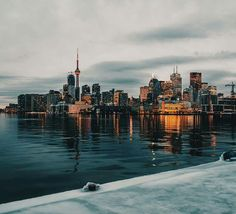 Toronto, a view from the east