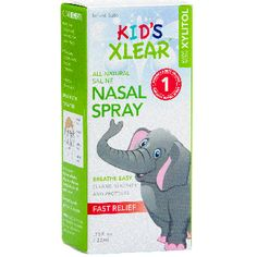Kid's Xlear Saline Nasal Spray with Xylitol was developed with children in mind. It's a drug-free, kid-friendly nasal spray that contains xylitol—a natural ingr Congested Nose, Saline Nasal Spray, Watery Eyes, Nasal Passages, Allergy Relief, Runny Nose, Flu Season, Drug Free, Allergies