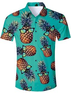 3280e9900 TUONROAD Men's 3D Printed Flower Hawaiian Shirt Casual Tropical Beach  Holiday Aloha Short Sleeve Button Down Shirt