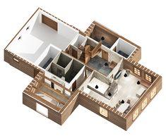 CHALUPA ALBRECHTICE 3D DESIGN 3d Design, Decorative Boxes, Interior, Home Decor, Decoration Home, Indoor, Room Decor, Interiors, Home Interior Design