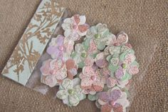 OOAK Handmade Flowers Handmade Paper flowers by Summertimedesign, $3.75