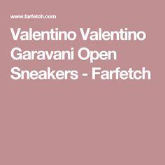 Valentino Valentino Garavani Open Sneakers - Farfetch
