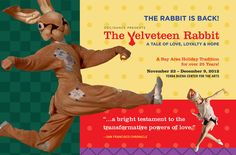 ODC Velveteen Rabbit 2012 Postcard