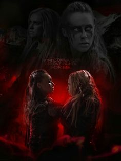 Lexa and Clarke The 100