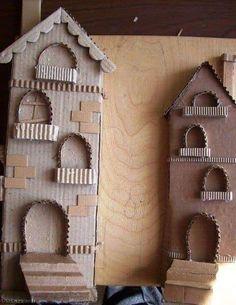 25 DIY Fairy Door Ideas from Popsicle or Wooden Craft Sticks & Rocks Diy Crafts Slime, Slime Craft, Diy Arts And Crafts, Craft Stick Crafts, Cardboard Box Crafts, Wooden Crafts, Paper Crafts, Diy Fairy Door, Fairy Doors