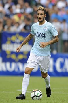 Luis Alberto of SS Lazio during the pre-season friendly match between SS Lazio and SPAL on July 22, 2017 in Pieve di Cadore, Italy.