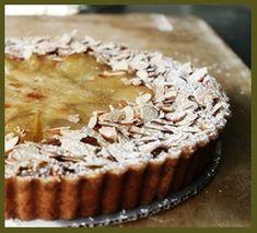 Seeking Sweetness in Everyday Life - CakeSpy - Honey, I'm Home: Pear and Honey Custard Tart Recipe from MacrinaBakery