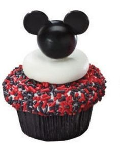12 MICKEY MOUSE PICS Cupcake Picks - Party Favors