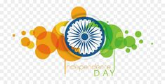 Indian Independence Day August 15 Flag of India - Vector Independence Day bubble