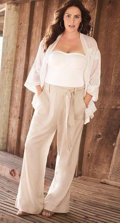 Plus Size Summer Outfit #plussize