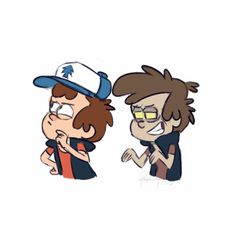 Ok I know it's Bill but isn't Dipper basically making out with himself..?? So weird..