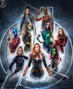Heroínas da Marvel #marvelbrasil #avengersinfinitywar #movies #cinema #hqs