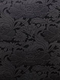 Tudor Floral Tapestry Wall Paper Signature Prints Peawallpaper Pattern Wallpaper Black Wallpaper