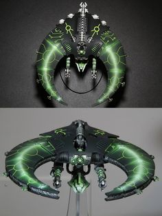 CoolMiniOrNot - Necron Doom Scythe by mephiston.eldorian