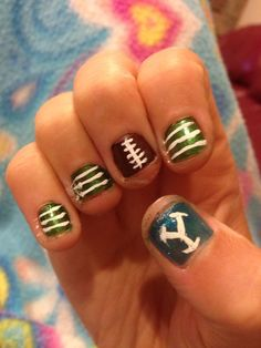 BYU football game nails
