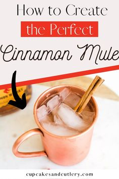 Need a fun drink idea for Valentine's Day? Make a Fireball Moscow Mule! With cinnamon whisky, this has just the right amount of spice. And it's perfect for sharing with your love.