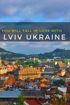 Ukraine Travel Inspiration - 10 Reasons You Will Fall in Love with Lviv Ukraine Lviv?  I confess that I knew absolutely nothing about this city in the Ukraine. That's despite the fact that it's considered to be one of the most beautiful and oldest in all of Eastern Europe. Not to mention that it was situated on a major trading route! It makes for a great destination when travelling to Europe.