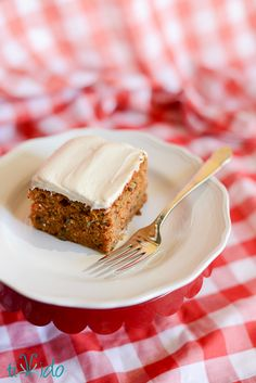 The Ultimate Carrot Cake Recipe (Carrots may be grated & frozen ahead of time and directions are for sheet pan or cupcakes.)