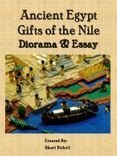 What a fun way to develop a deeper understanding of the Ancient Egyptian civilization and the importance that the Nile River played in its development.