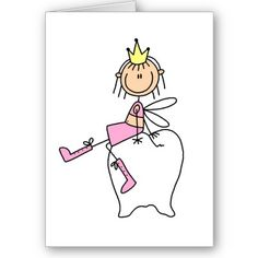 Fada do dente - Zahnfee - Tooth fairy Good for a note or a reciept Fairy Drawings, Cartoon Drawings, Tooth Fairy Note, Cricut Design Studio, Stick Figure Drawing, Picture Sharing, Journal Paper, Stick Figures, Custom Greeting Cards