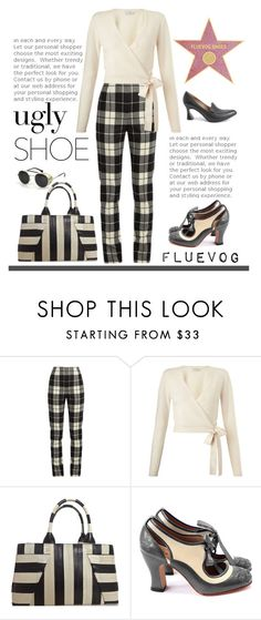 """""""Fluevog Shoes"""" by patricia-dimmick ❤ liked on Polyvore featuring MaxMara, Miss Selfridge, Roland Mouret, John Fluevog, shoes, uglyshoes and fluevog"""