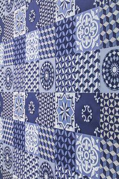 Pattern géométrique en papier