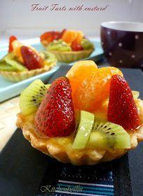 Kitchen Boffin: Fruit tarts with custard filling