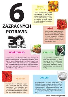 6 zázračných potravin - 30ti denní výzva Detox, Healthy Lifestyle, Healthy Recipes, Celebrity, Food, Nutrition Meal Plan, Flat Stomach, Healthy Eating, Loose Weight