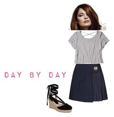 """""""Day by Day"""" by zavalle on Polyvore featuring Hollister Co. and Topshop"""