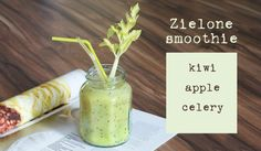 Ever tried a refreshing kiwi, apple, celery smoothie? If not then you are really missing out! Try this awesome smoothie recipe today by clicking through and learning how to make it! Homemade Protein Shakes, Easy Protein Shakes, Protein Shake Recipes, Easy Smoothie Recipes, Easy Smoothies, Weight Loss Smoothies, Celery Smoothie, Smoothie Drinks, Brunch Recipes